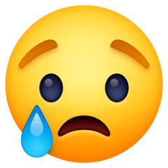 😢 Crying Face Emoji — Meaning, Copy & Paste