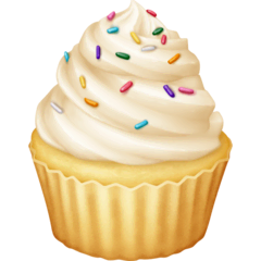 Cupcake Emoji on Facebook