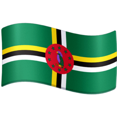 Flag: Dominica Emoji on Facebook