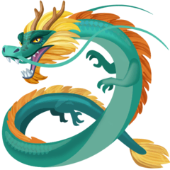 Dragon Emoji on Facebook