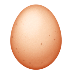 Egg Emoji on Facebook