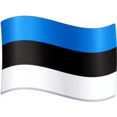 Flag: Estonia Emoji on Facebook