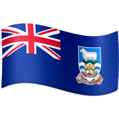 Falkland Islands Emoji on Facebook