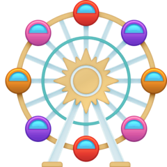 Ferris Wheel Emoji on Facebook