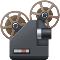 Film Projector Emoji on Facebook