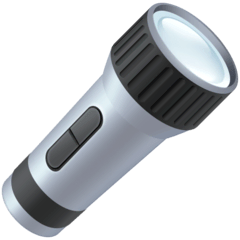 Flashlight Emoji on Facebook