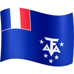 Flag: French Southern Territories Emoji on Facebook