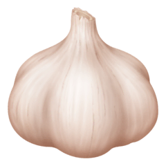 Garlic Emoji on Facebook