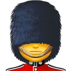 Guard Emoji on Facebook
