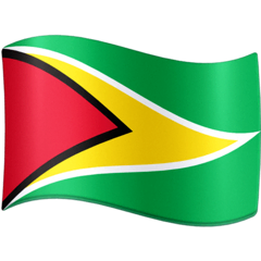 Guyana Emoji on Facebook