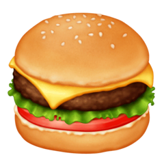 Hamburger Emoji on Facebook