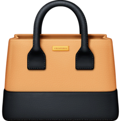 Handbag Emoji on Facebook