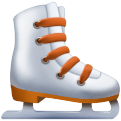 Ice Skate Emoji on Facebook