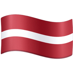 Flag: Latvia Emoji on Facebook