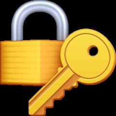 Locked With Key Emoji on Facebook