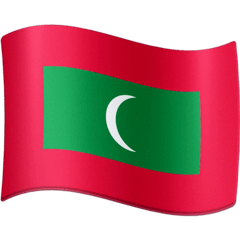 Flag: Maldives Emoji on Facebook