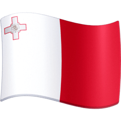 Flag: Malta Emoji on Facebook