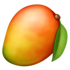 Mango Emoji on Facebook