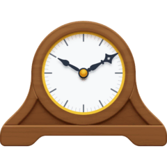 Mantelpiece Clock Emoji on Facebook