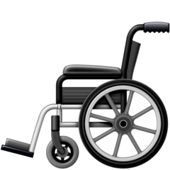 Manual Wheelchair Emoji on Facebook