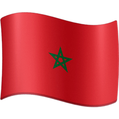 Flag: Morocco Emoji on Facebook