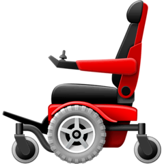 Motorized Wheelchair Emoji on Facebook