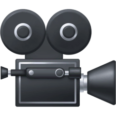 Movie Camera Emoji on Facebook