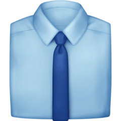 Necktie Emoji on Facebook