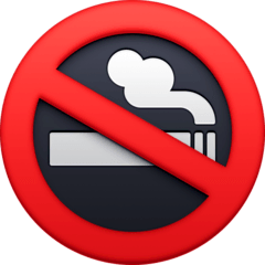 No Smoking Emoji on Facebook