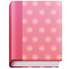 Notebook With Decorative Cover Emoji on Facebook