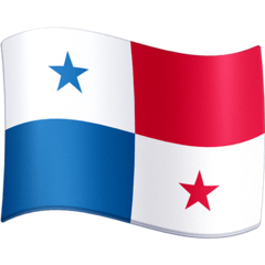 Flag: Panama Emoji on Facebook