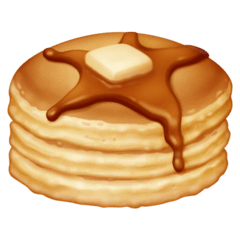 Pancakes Emoji on Facebook
