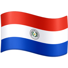 Flag: Paraguay Emoji on Facebook