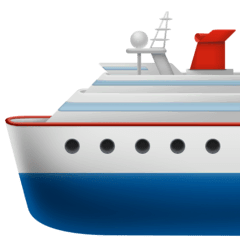 Passenger Ship Emoji on Facebook