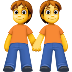 People Holding Hands Emoji on Facebook