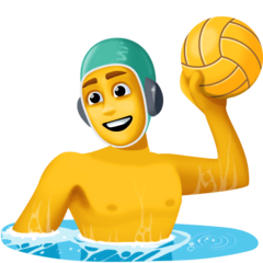 Person Playing Water Polo Emoji on Facebook