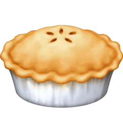 Pie Emoji on Facebook