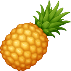 Pineapple Emoji on Facebook