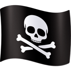 Pirate Flag Emoji on Facebook