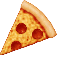 Pizza Emoji on Facebook