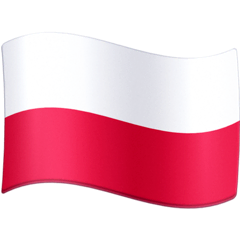 Poland Emoji on Facebook