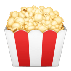 Popcorn Emoji on Facebook