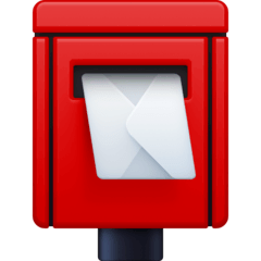 Postbox Emoji on Facebook