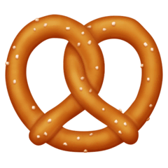 Pretzel Emoji on Facebook