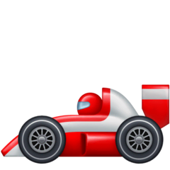 Racing Car Emoji on Facebook