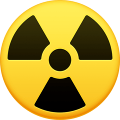 Radioactive Emoji on Facebook