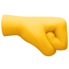 Right-Facing Fist Emoji on Facebook