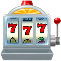Slot Machine Emoji