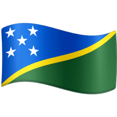 Solomon Islands Emoji on Facebook