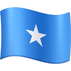 Flag: Somalia Emoji on Facebook